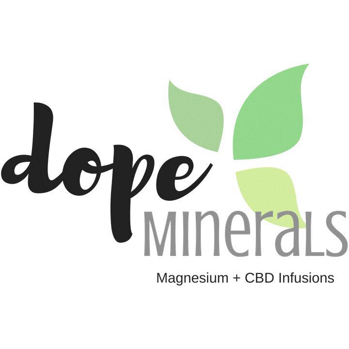Dope Minerals    is an amazing skincare company owned and run by two amazing women. Offering Magnesium and CBD skincare for any skincare concern!