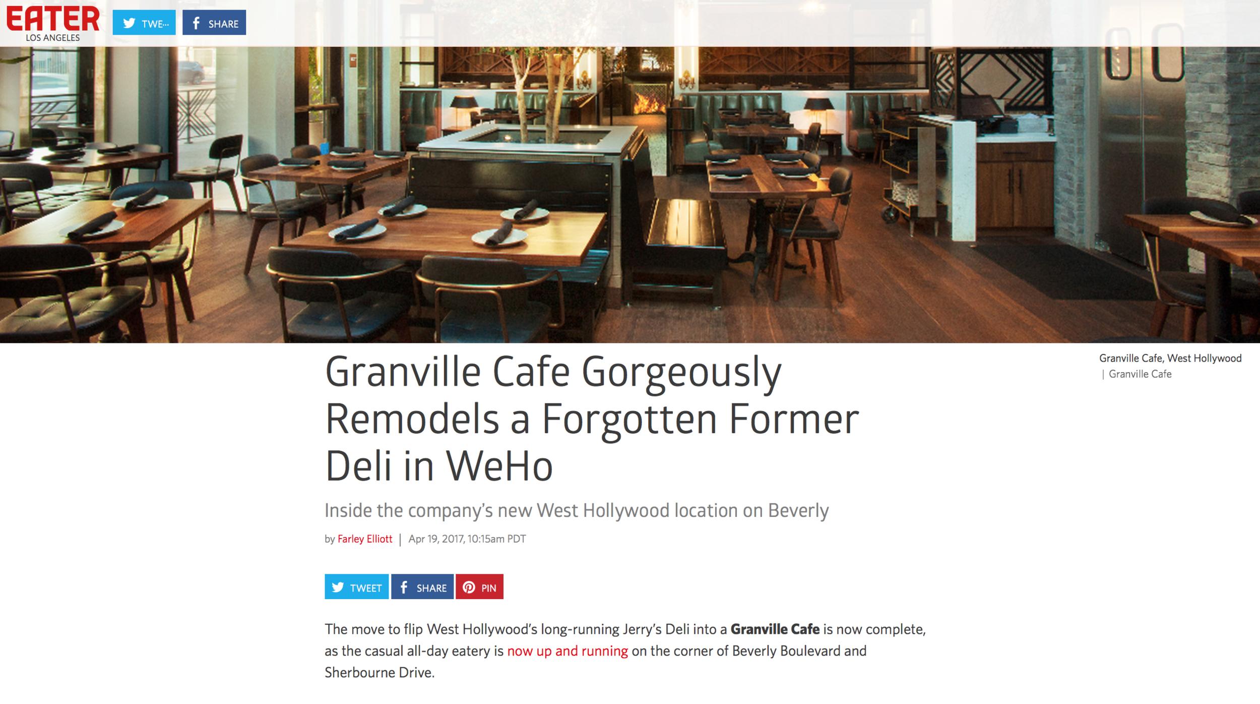 Eater LA - Granville