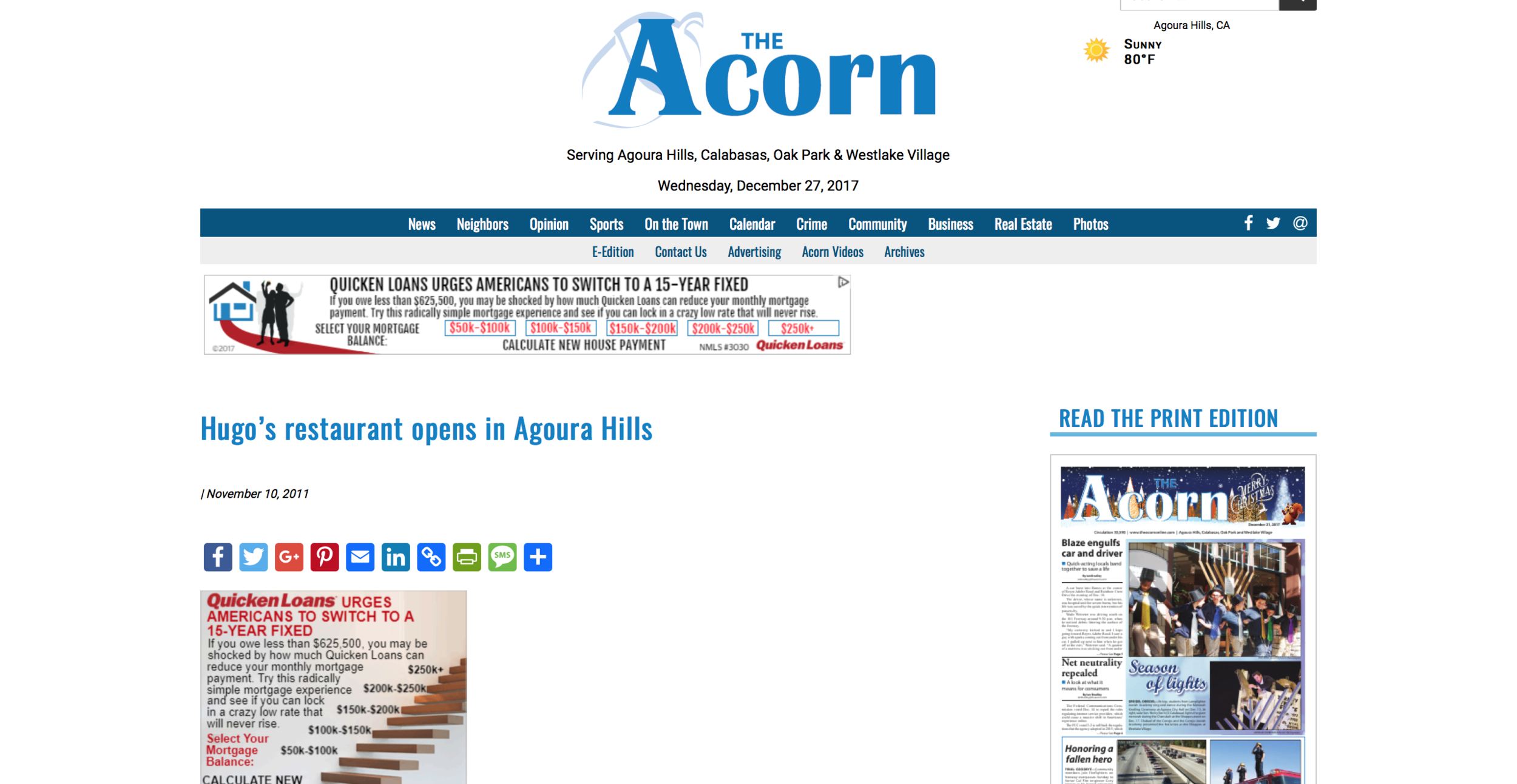 The Acorn - Hugo's