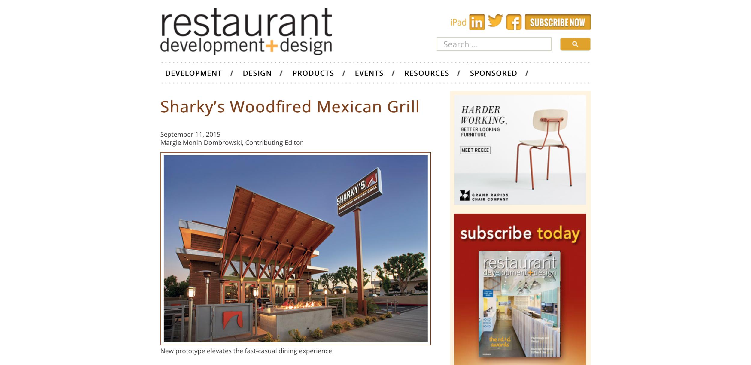 Restaurant Development + Design - Sharkys