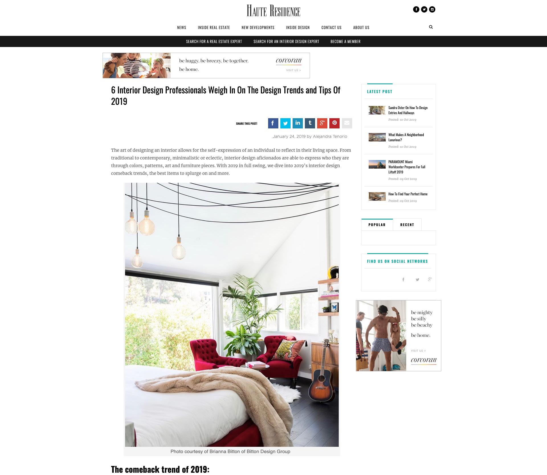 Haute Residence - Hollywood Hills Residence