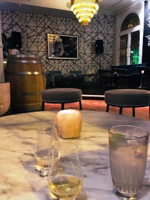 The Kilburn in Hawthorn.Please note The Gent's G&T to the right.