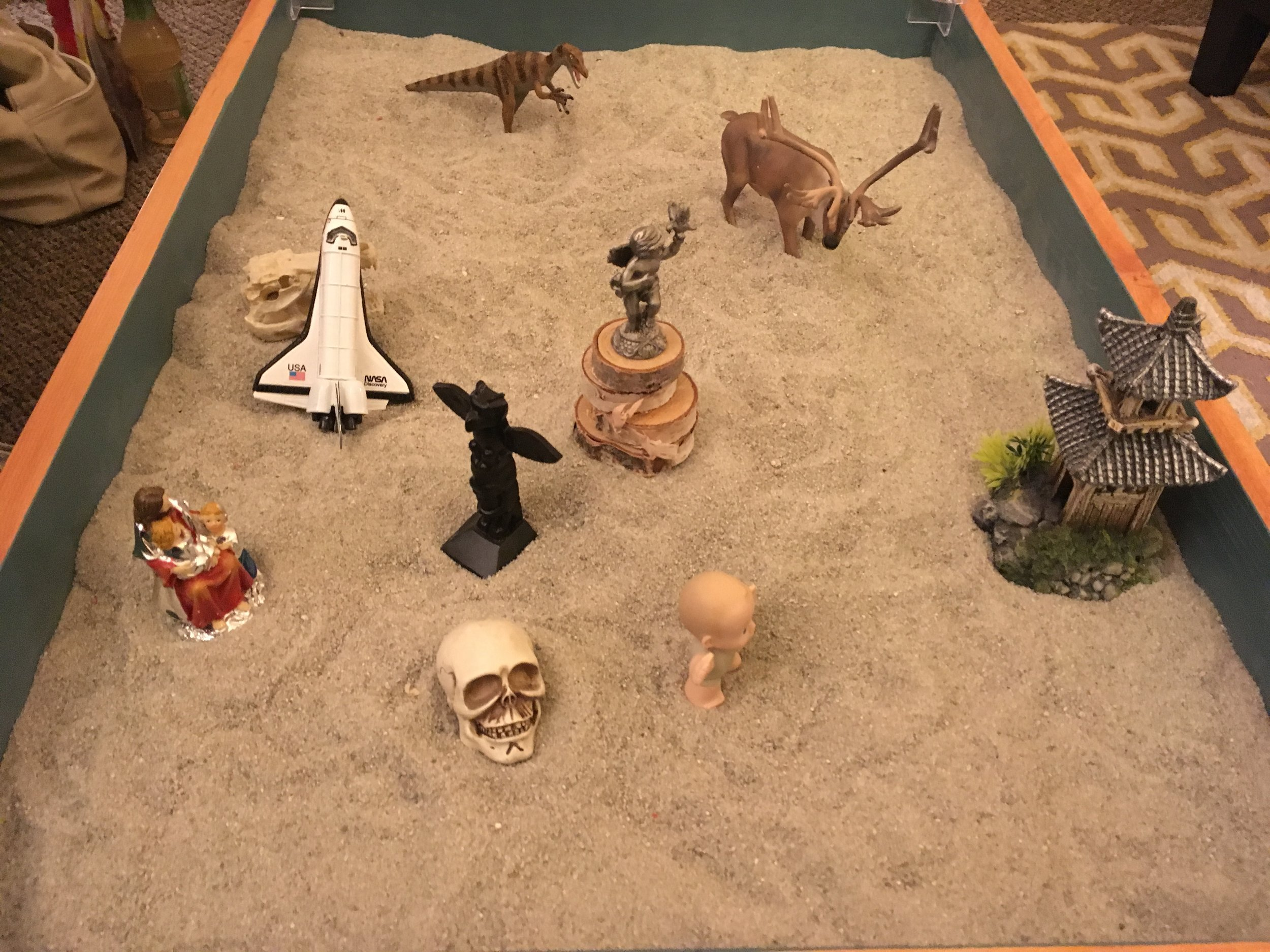 Sand Tray Therapy