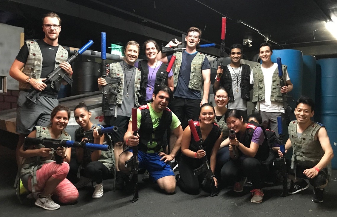 Ok, so the  Griesemer Lab  trounced us at laser tag in Lab Battle 2018. We will get that trophy next year (… and we support Everytown.)