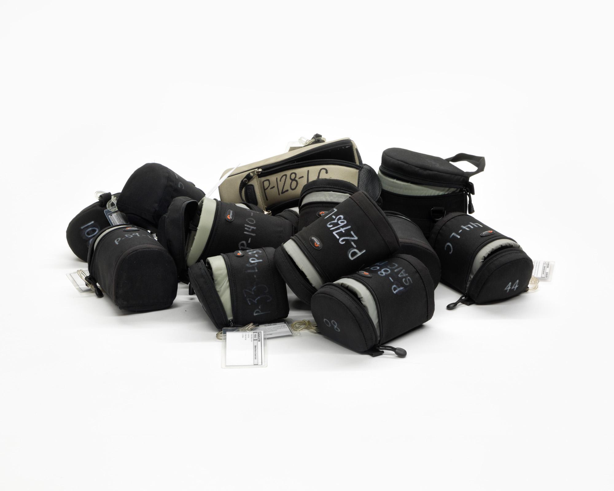 Twelve Lens Cases