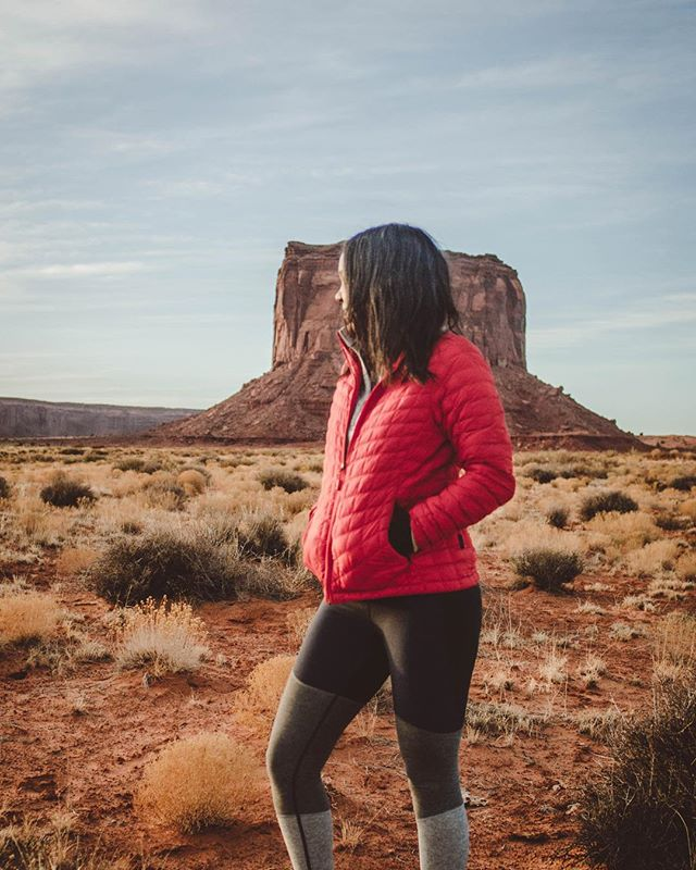 #tbt when I camped with a few horses and a curious coyote and woke up to this amazing view. - - Heading back to the desert next month for a backpacking trip to #Havasupai with @justroughinit and ya girl is 👏🏾 so 👏🏾 pumped! I've pretty much already packed all my #burtongirls gear 30 days early. Arizona is hands down my favorite state (second to Georgia of course 😜) - - - - - - #tbt #womenwhohike #outdoorwomen #wildernessbabes #radgirlslife #mountaingirls #sheexplores #choosemountains #werehikers #sheadventures #alpinebabes #girlswhohike #campingcollective #wearethewild #hikingadventures #goatworthy #adventureculture #optoutside #livewylder
