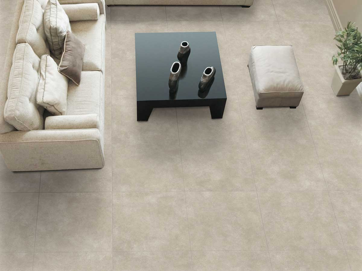 Renegade Range - Fine veining and slight variations in colour tones provide the Renegade range with a natural stone feel, without a heavy, variable pattern.The range is available in 6 colourways: White, Beige, Latte, Grey, Mocha and Black; as well as 2 size formats: 300 x 300mm and 450 x 450mm.