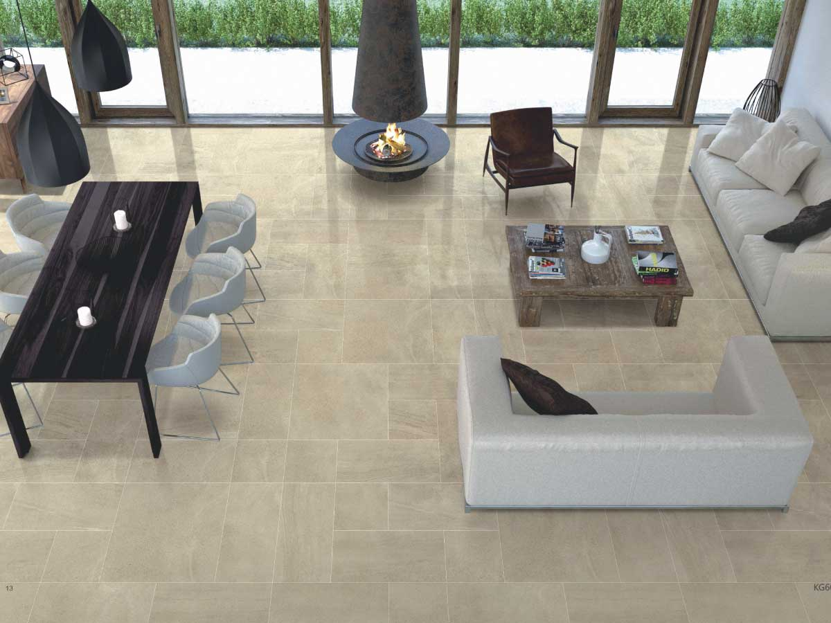 Limestone Series - The Limestone series is the result of nature and technology working in unison to create a realistic stone-look porcelain tile range. The range is available in both a porcelain floor option (300 x 300mm, 300 x 600mm & 600 x 600mm) as well as a ceramic bathroom option with matching decors (300 x 300mm & 300 x 600mm).The series is available in 5 colours – White, Beige, Light Grey, Mid Grey & Dark Grey – However Mid Grey and Dark Grey not available as a ceramic bathroom option.