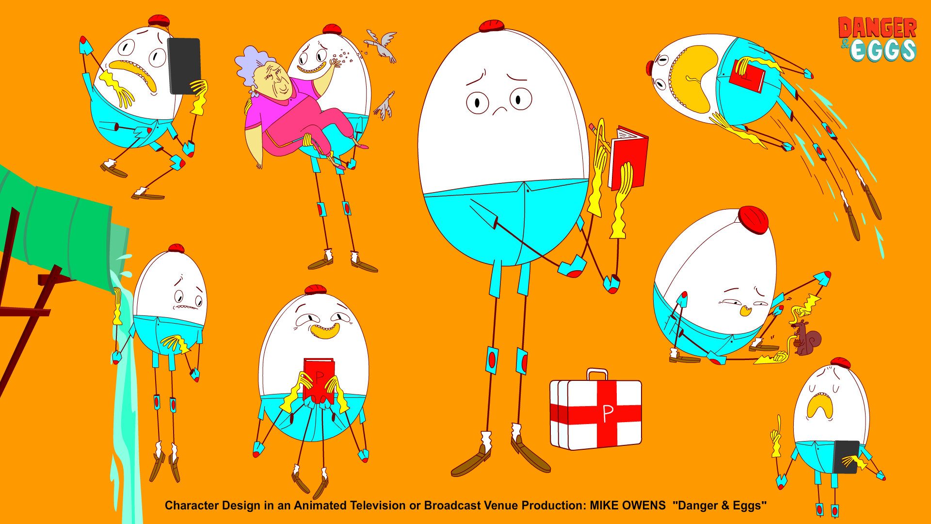 PHILLIP the SAFETY EGG has been in my brain for a long time. So excited that he exists in the world of cartoons!