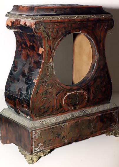 20030808-19th Century French Turtleshell Finish Clock (before).jpg
