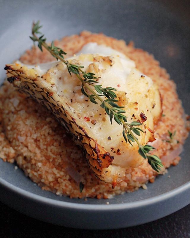 Eating fish is a tradition in China to celebrate new year. Here we have oven roasted see bass with couscous vinaigrette. #food #seabass #foodporn #seafood #fishing #delicious #yummy #happynewyear #2018 #recipe #couscous #celebration #boston