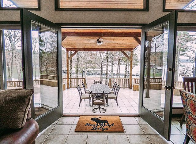Coming Soon: Moosehead Lodge  This 4 bedroom/3 bathroom lakefront home is sure to book up quick! It features a game room, plenty of outdoor entertaining space, and so much more!  Contact us now to reserve your dates before it is booked up ✔️