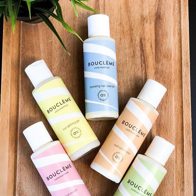 """💄 #MorenaProducts feat. Bouclème founded by Michele Scott-Lynch. Her """"simple 3 step system cleanse, condition, define will give you beautiful, shiny and frizz free curls. As nature intended."""" 😌 . Bouclème takes pride in being a sustainable company that never tests on animals and uses packaging that's biodegradable and recyclable. It's great for the environment as well as your hair! . Swipe to see @curlygallal's gorgeous, healthy curls after using Bouclème's 3 step system! 😍🌟 .  #togethermorena #naturalbeautyproducts #naturallycurly #curlyhairgoals #curlyhair"""