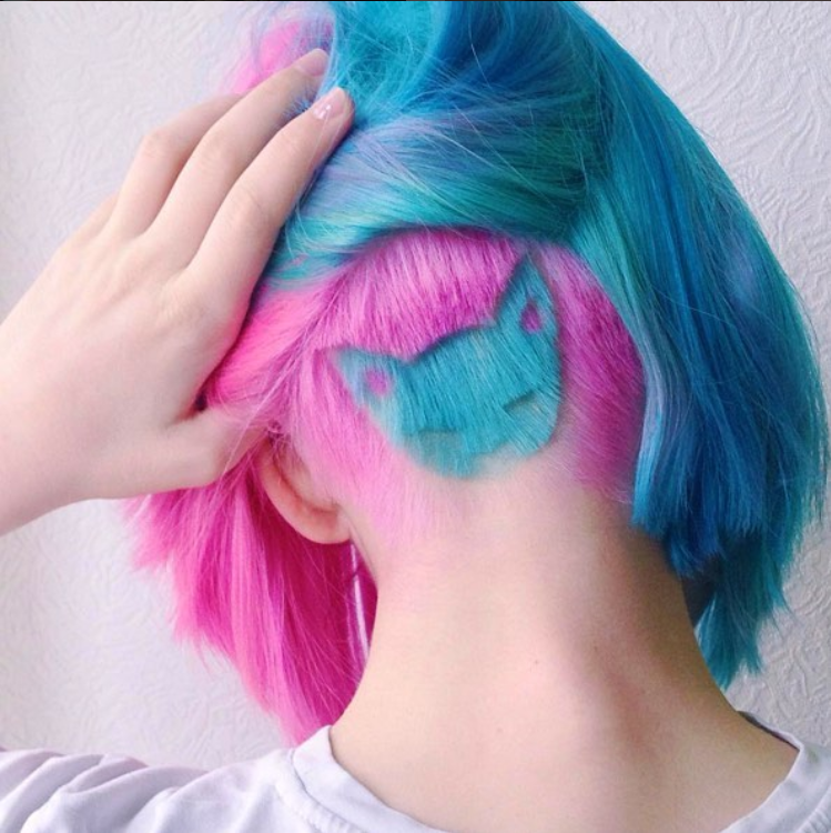 @vistelacalle  tattoos hidden in your hair What do you think..PNG