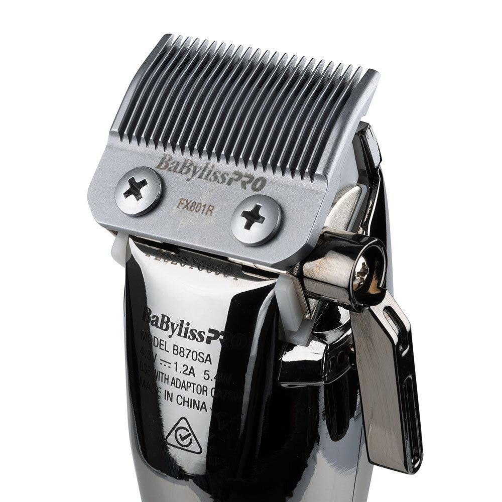 Babylisspro Silverfx Lithium Hair Clipper Babylisspro Australia Babyliss Pro