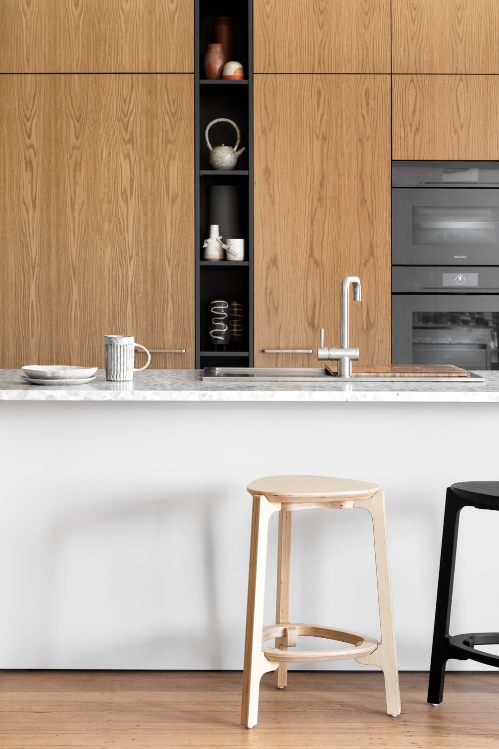 Design Files Cantilever Kitchen