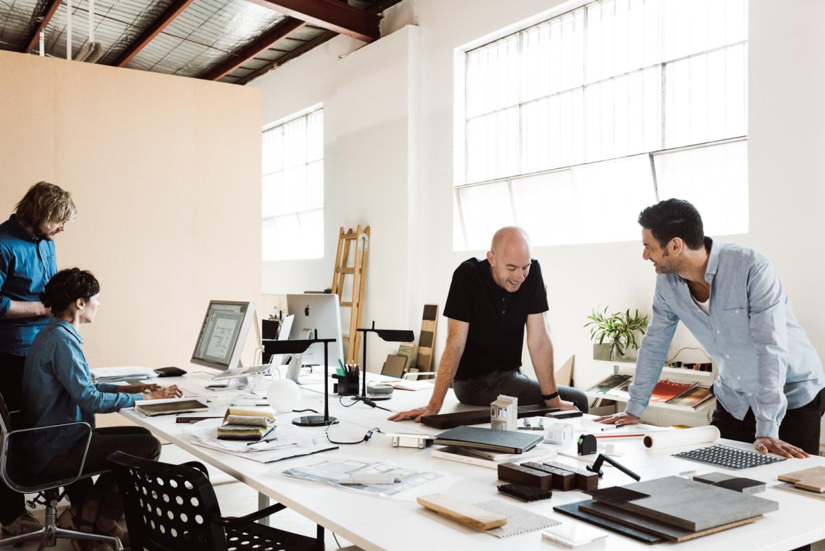 DesignOffice team at their Collingwood Studio | Image - Tom Blachford & Kate Ballis
