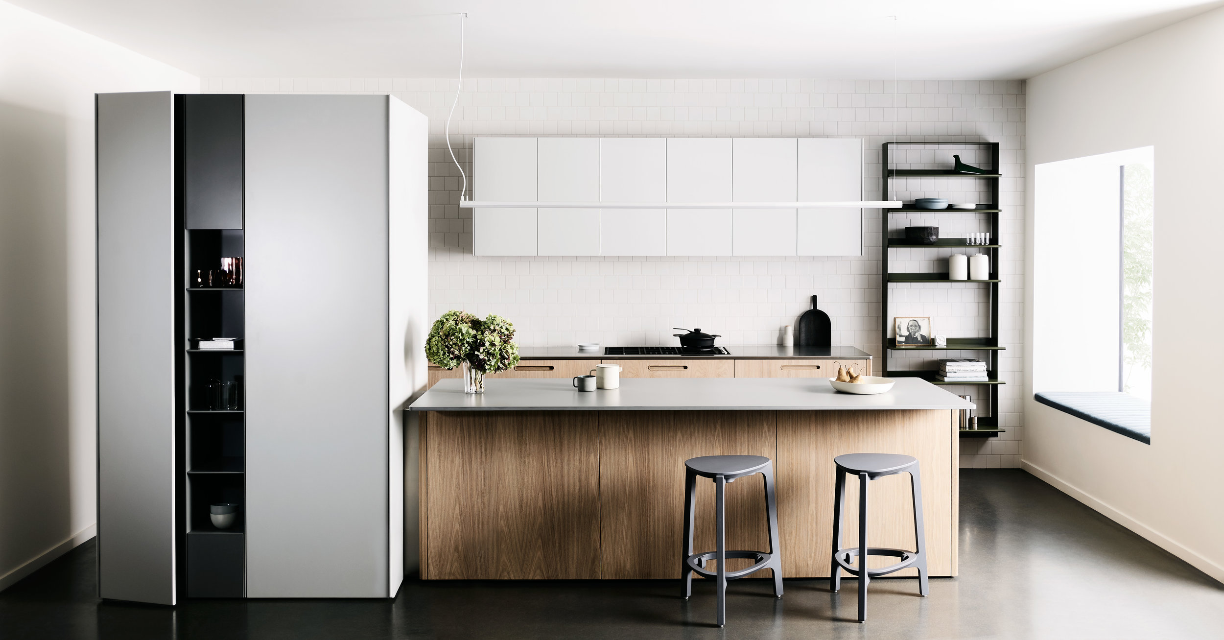 Tableau, a collaborative kitchen designed by Cantilever Interiors and DesignOffice   |  Photo – Haydn Cattach