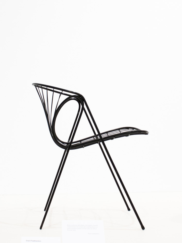 Prototype for Wire Chair, 1963