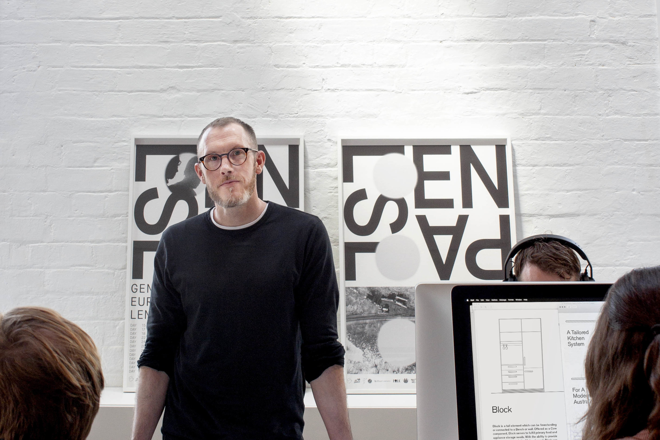 Rhys at TCYK HQ, Image Cantilever Interiors