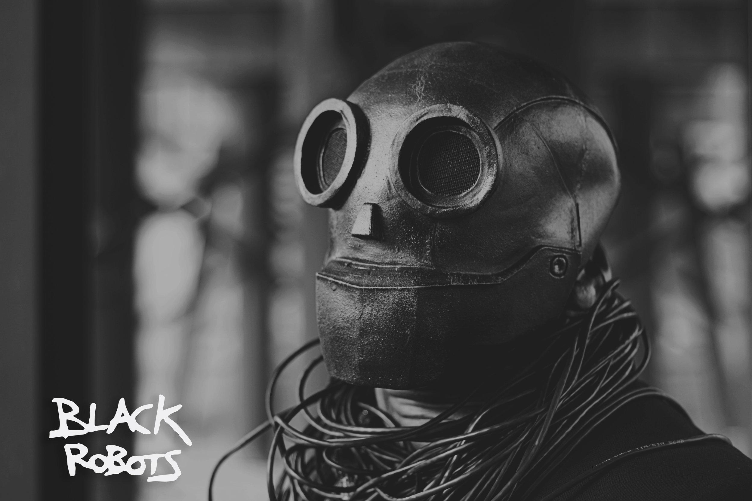 Black Robots photo credit: The Art of James E. Walker