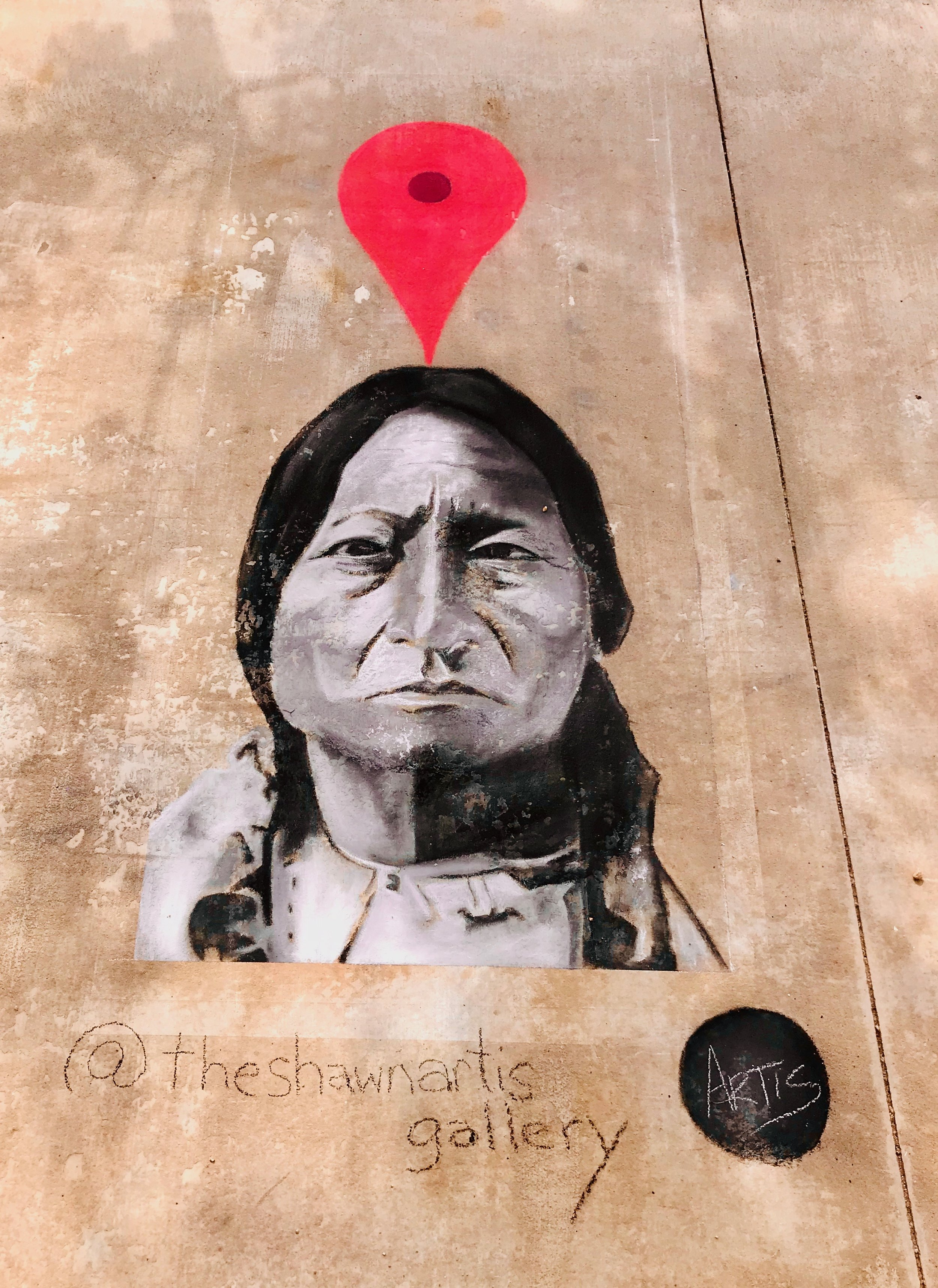 Sitting Bull was Here