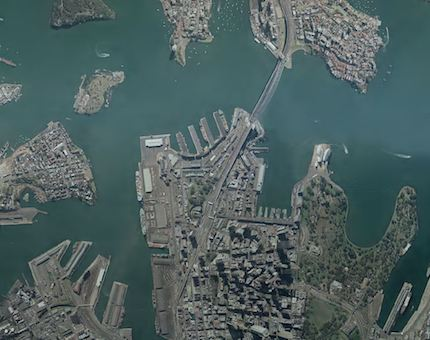 Sydney Aerial 1982