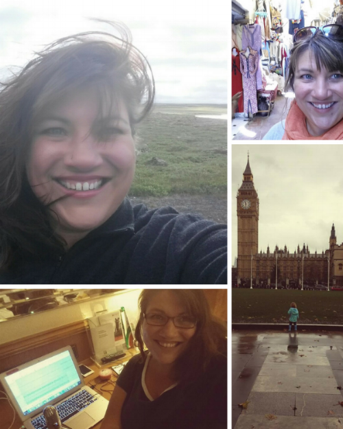 Heather in Iceland and Morocco, her daughter in London, and podcasting from a hotel room.