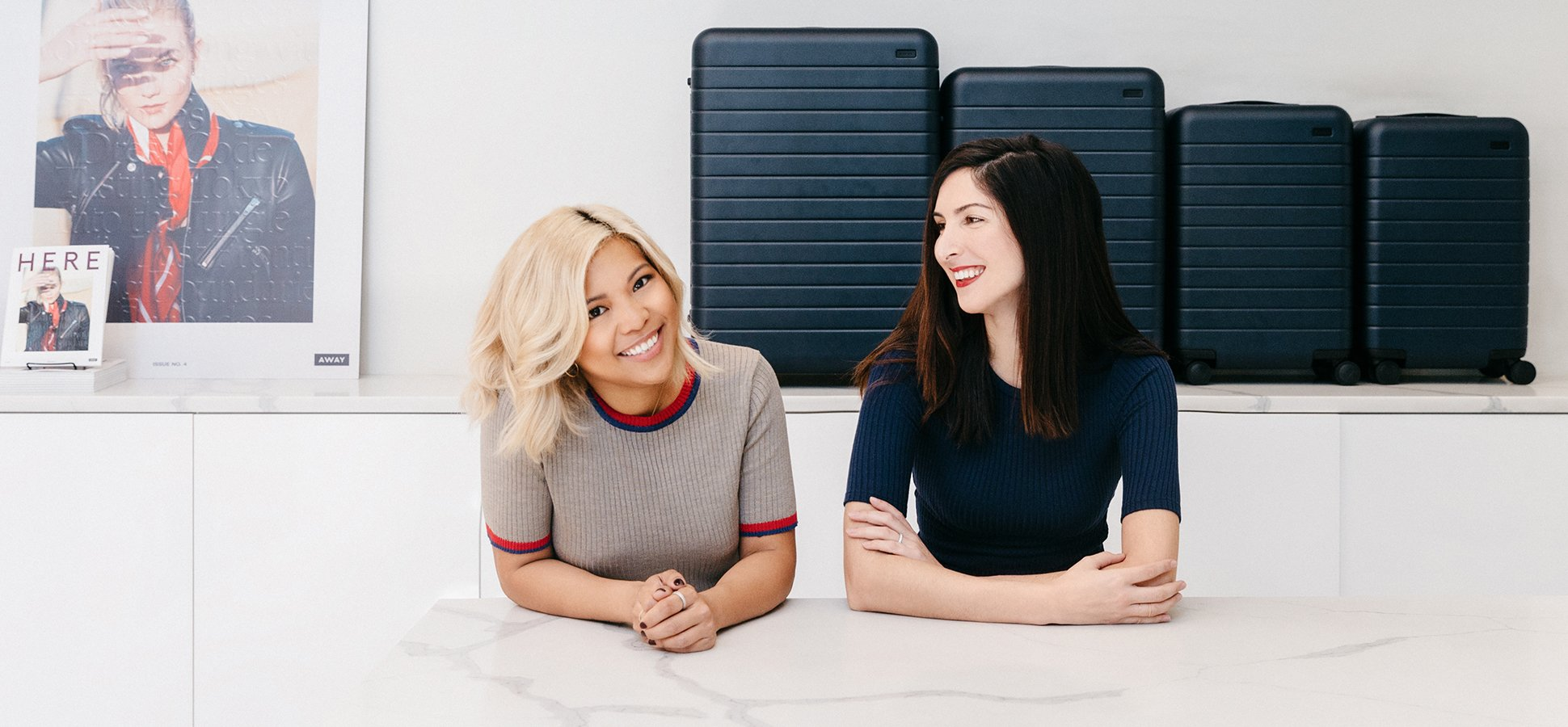 Away Co-Founders Jen Rubio & Steph Korey - Photo  Masha Maltsava
