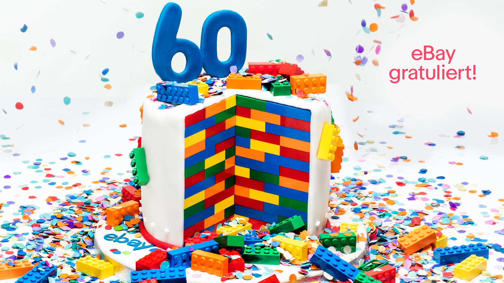 LEGO feiert seinen 60. Geburtstag mit eBay (Foto: eBay)