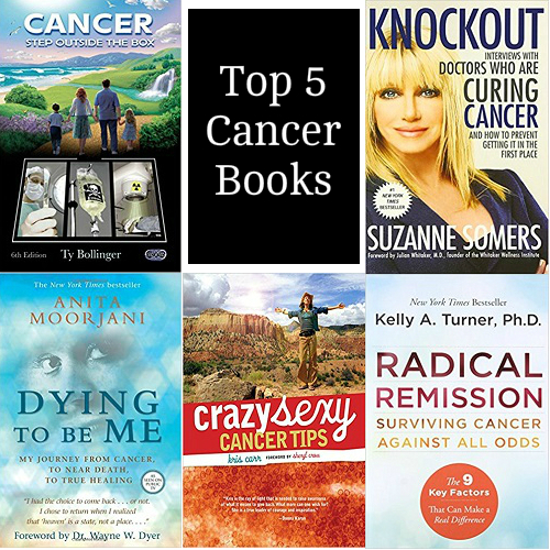 Books on treating cancer holistically and with alternative treatments