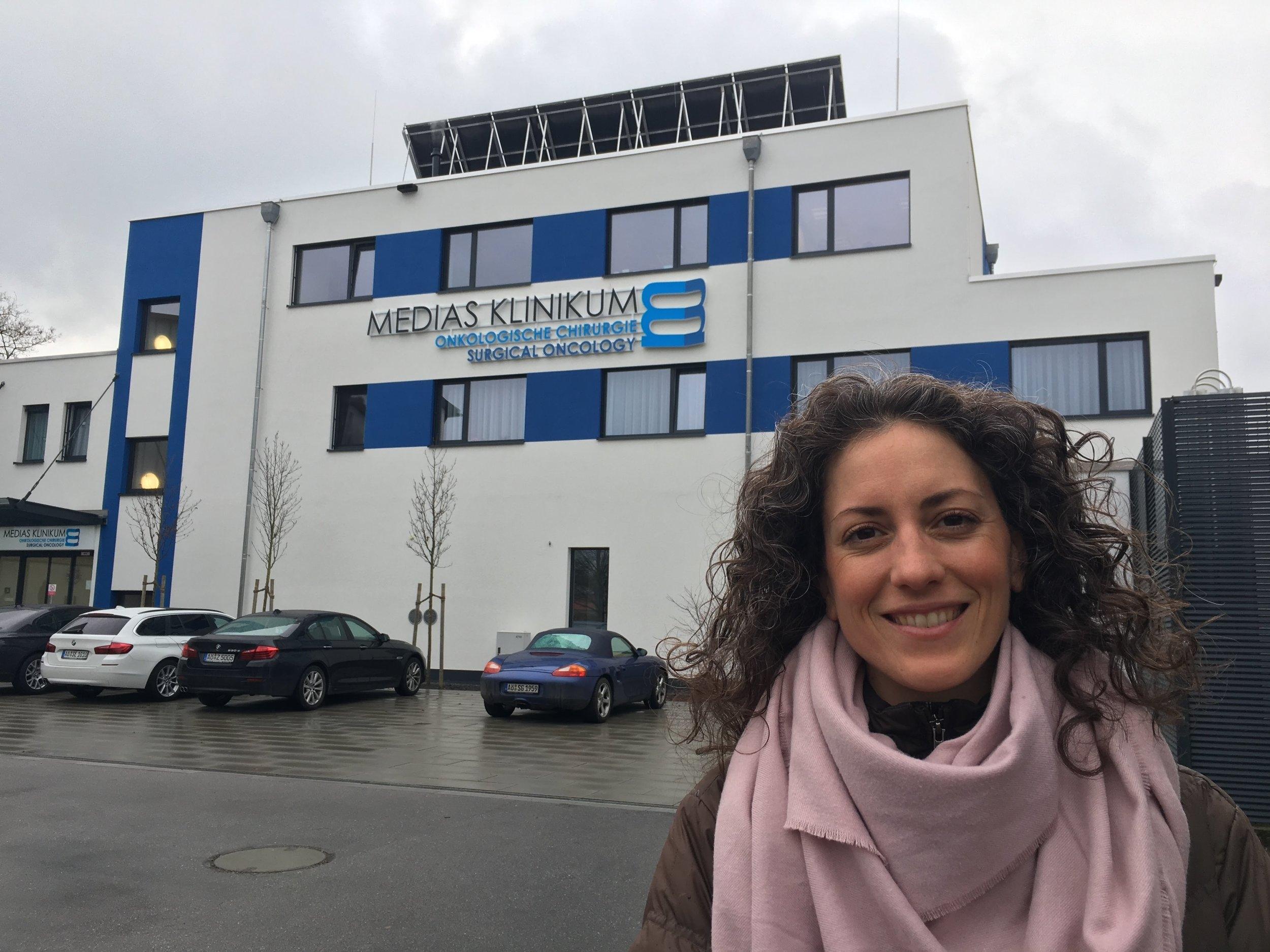 Visiting German Cancer Clinics Medias Klinikum