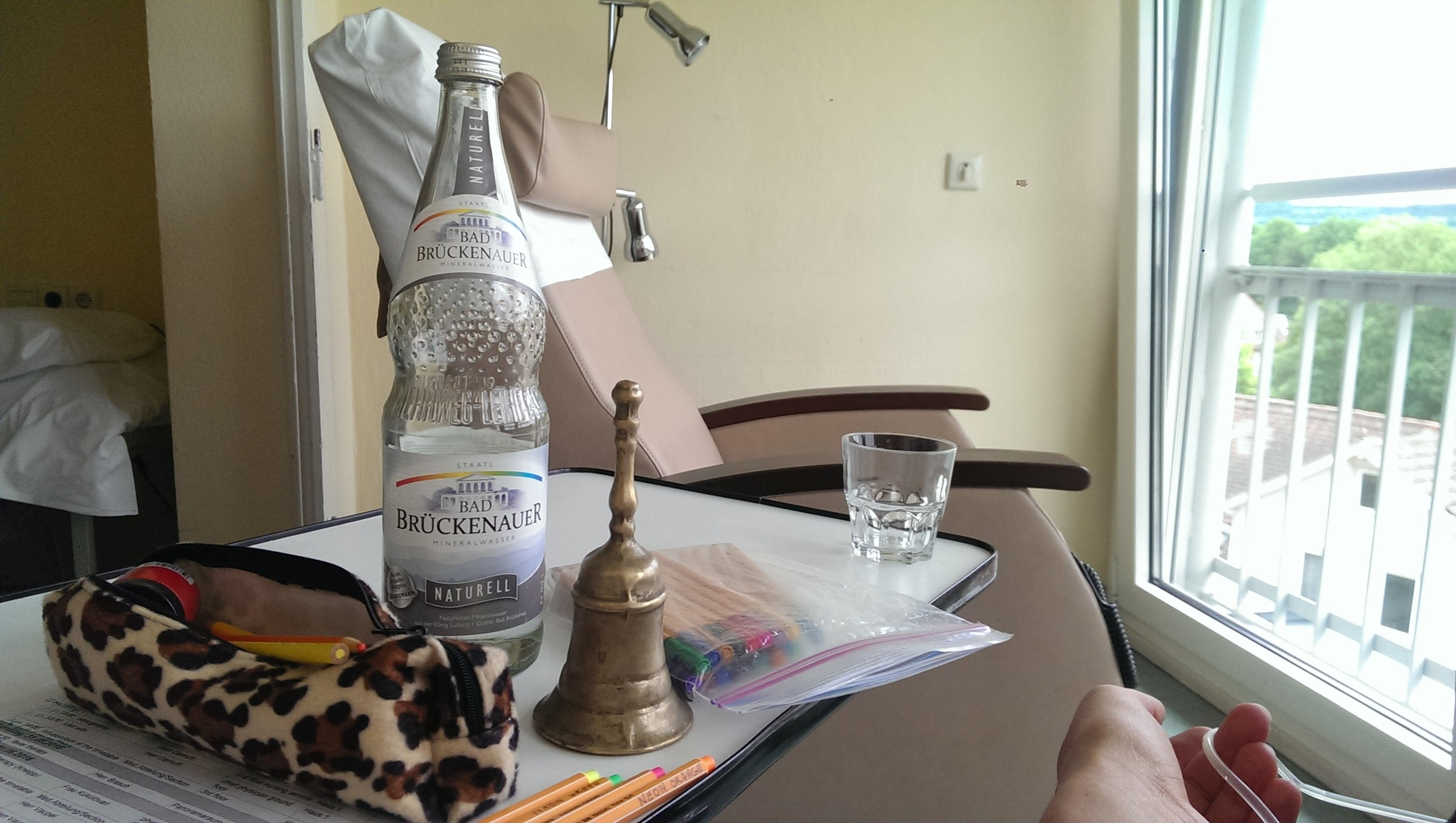 Mineral Water & Private Infusion Room