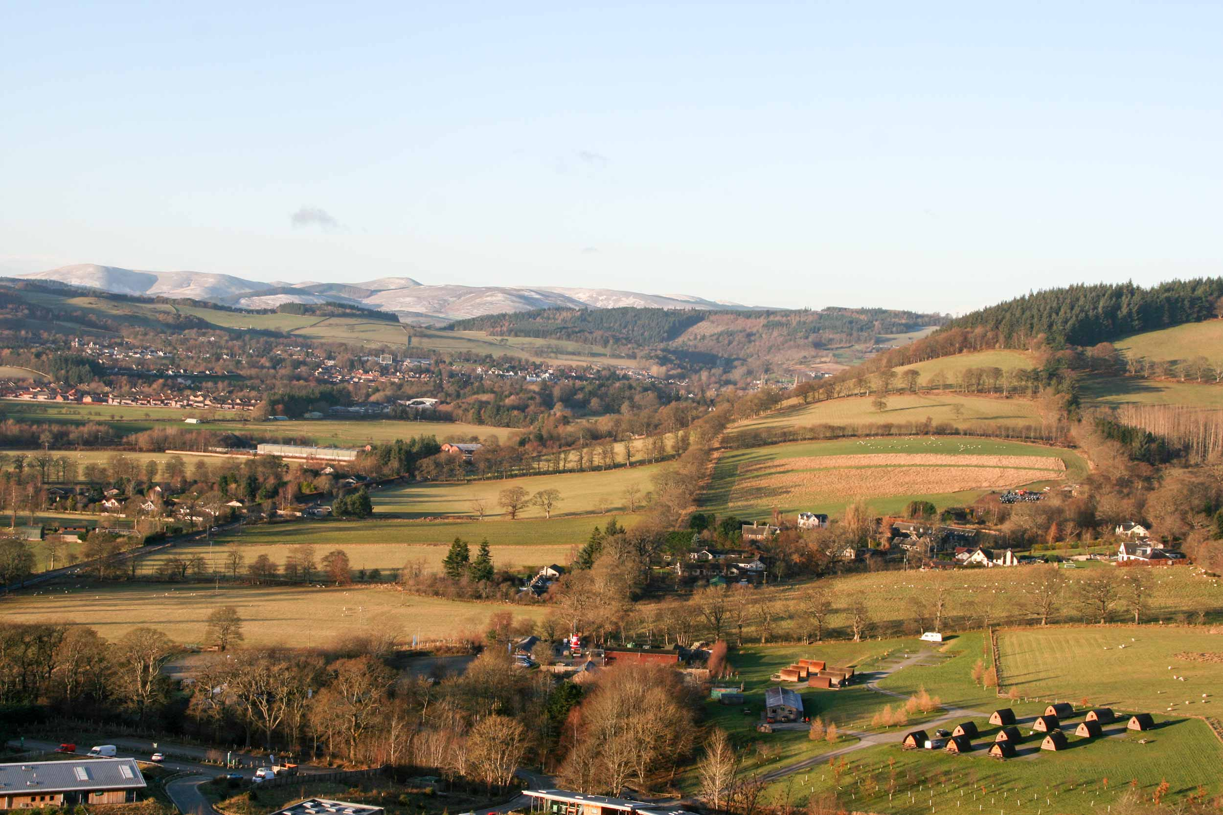Just a few miles outside the beautiful Scottish Borders town of Peebles