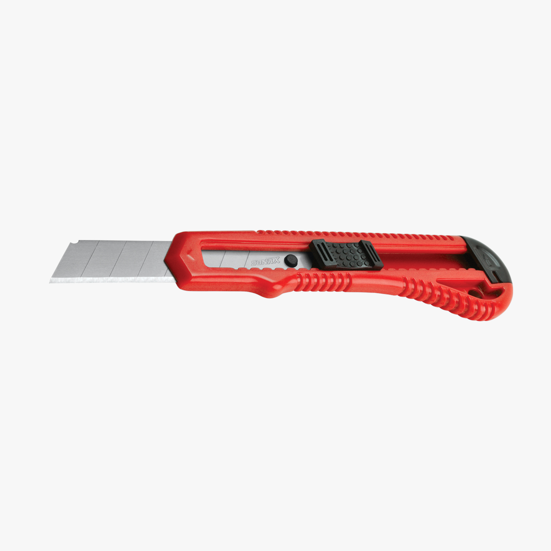 Kırmızı Plastik Falçata - 18 mm