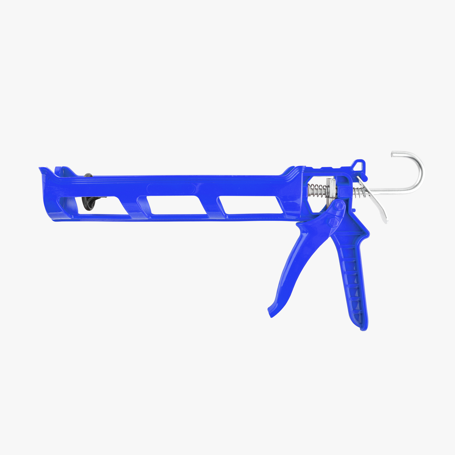 Blue Plastic Caulking Gun