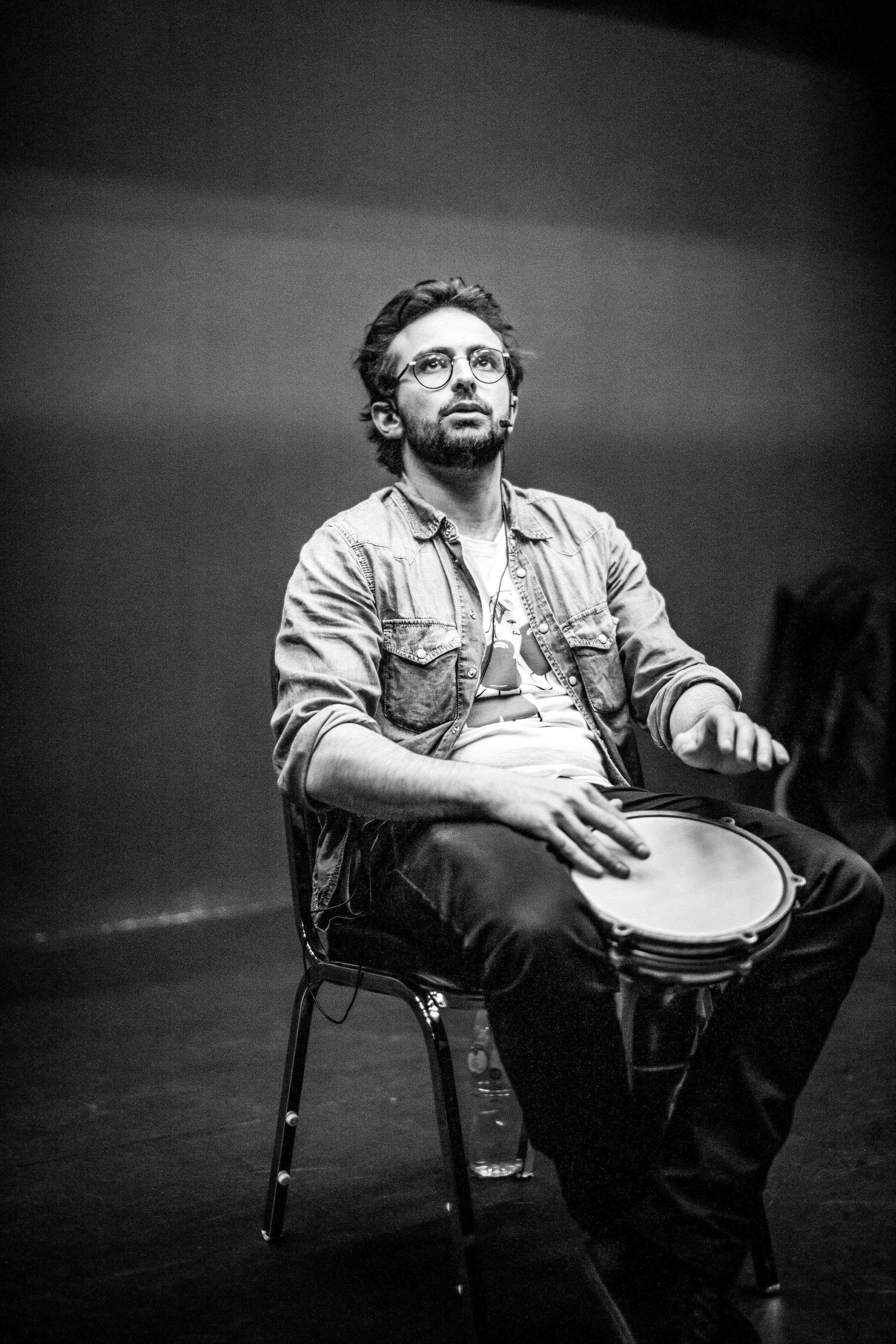 Félix en répétition au Hong Kong Arts Center - mars 2018
