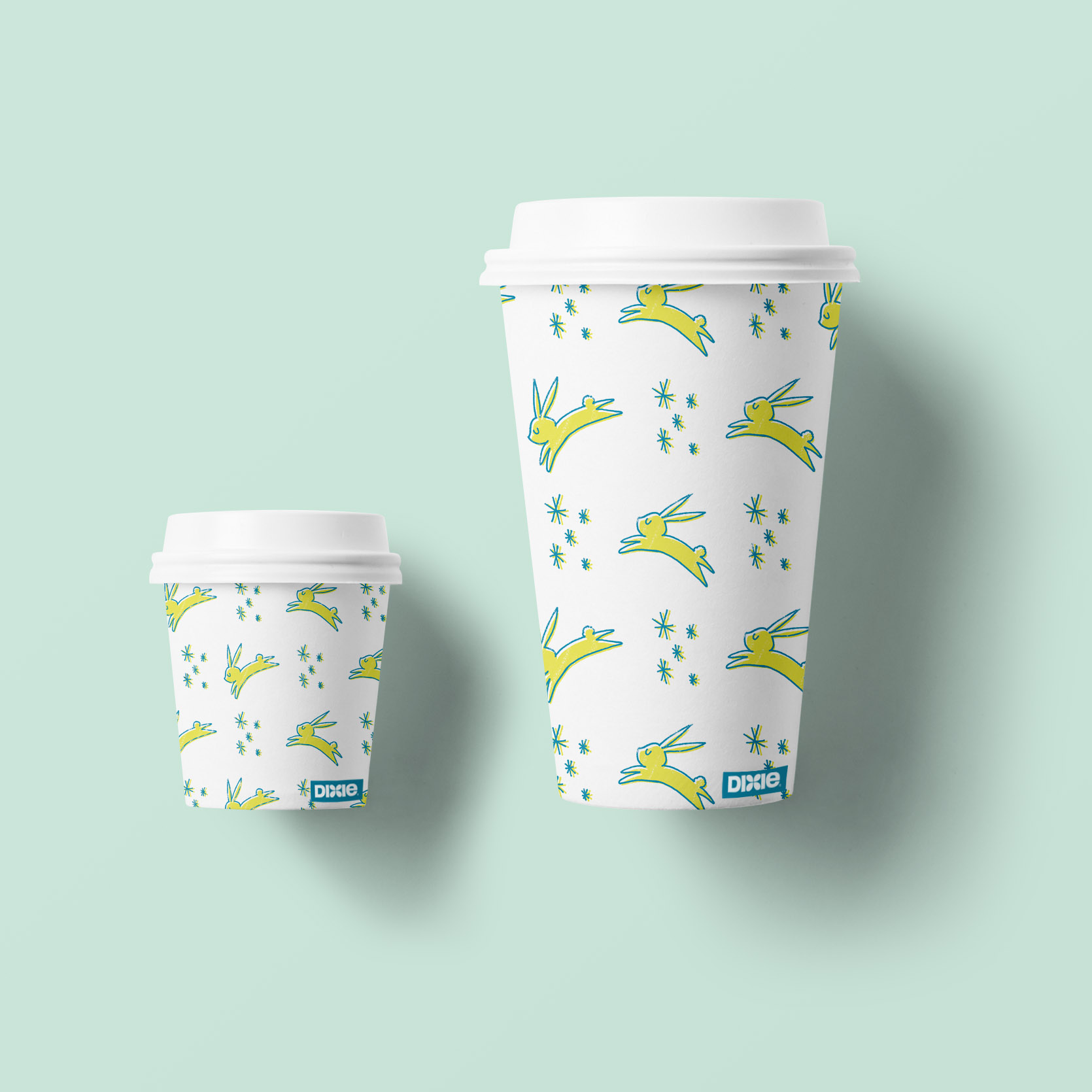 MINI-SYS.COM Shirley Susilo Paper Cup rabbit star blue yellow crop.jpg