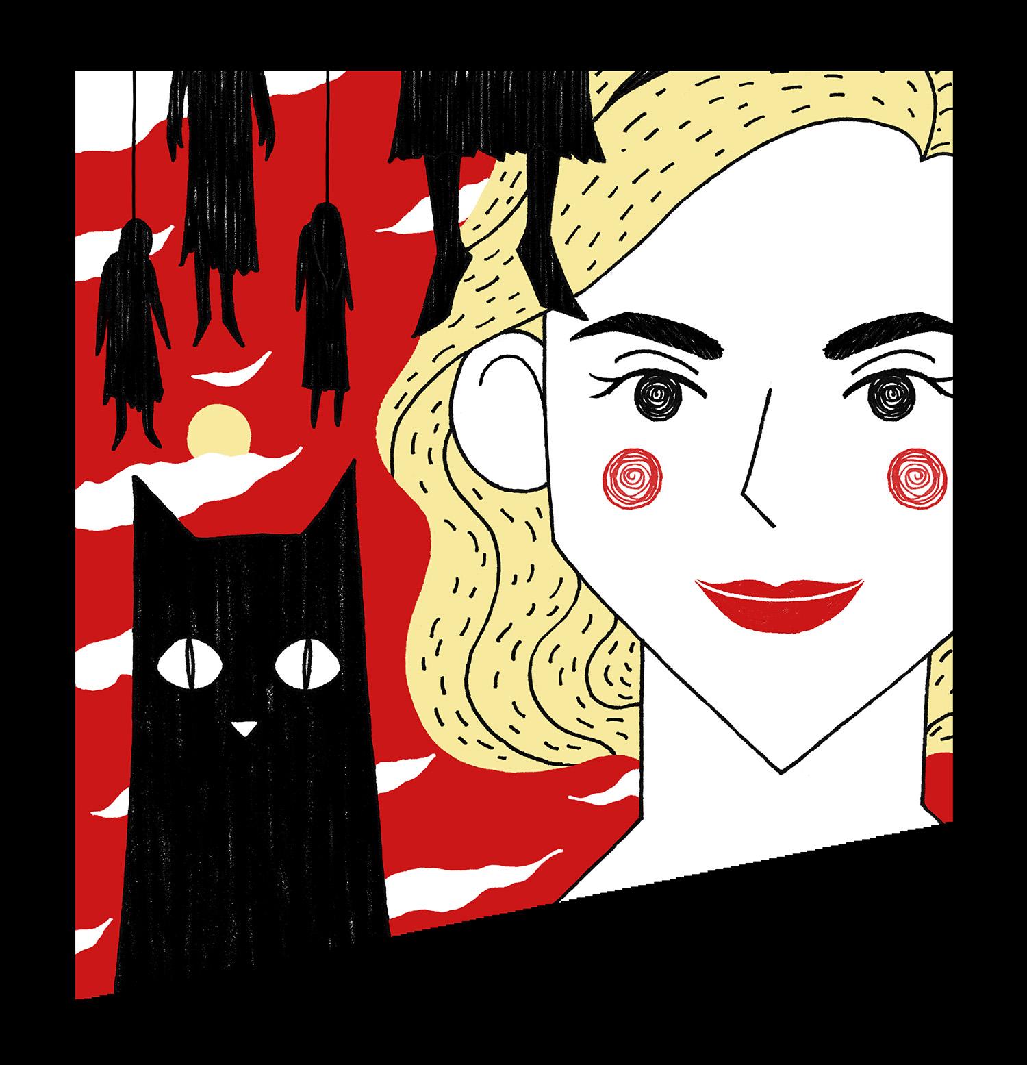 MINI-SYS.COM Shirley Susilo sabrina nes nintendo illustration.jpg