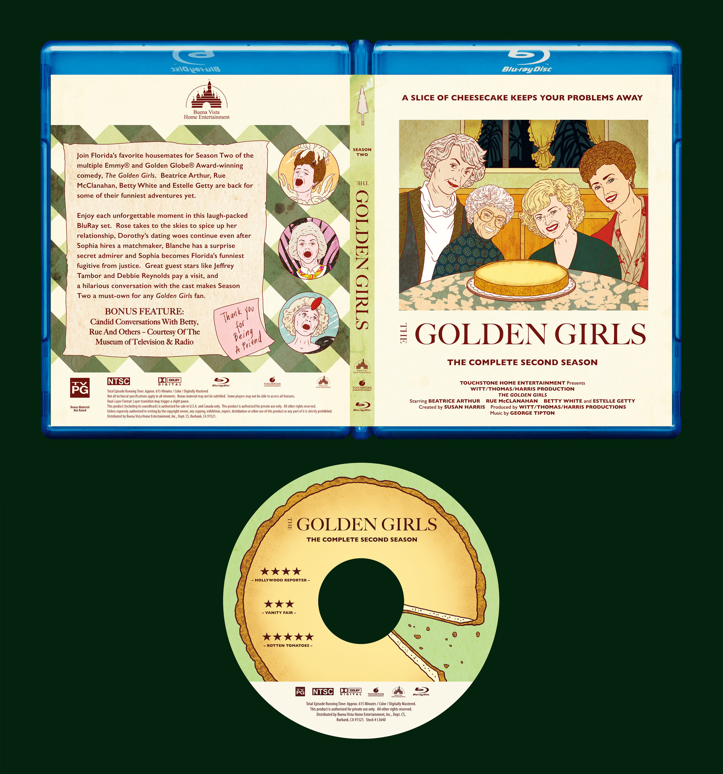 MINI-SYS.COM Shirley Susilo golden girls 2 bluray packaging disc label design square.jpg