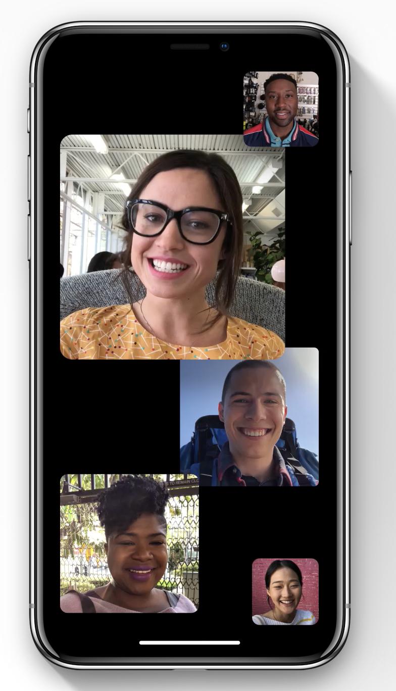 nouveautés-iOS12-facetime-group-apple-iPhone