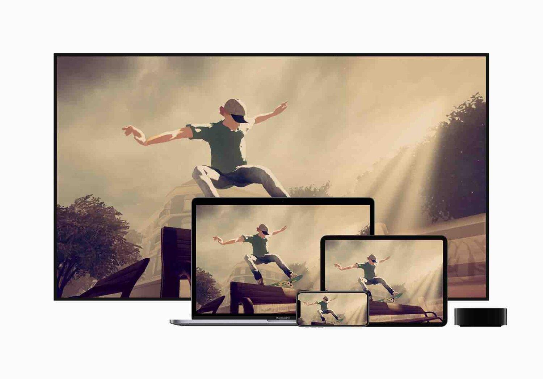Arcade disponible sur Apple TV, Mac, iPad et iPhone