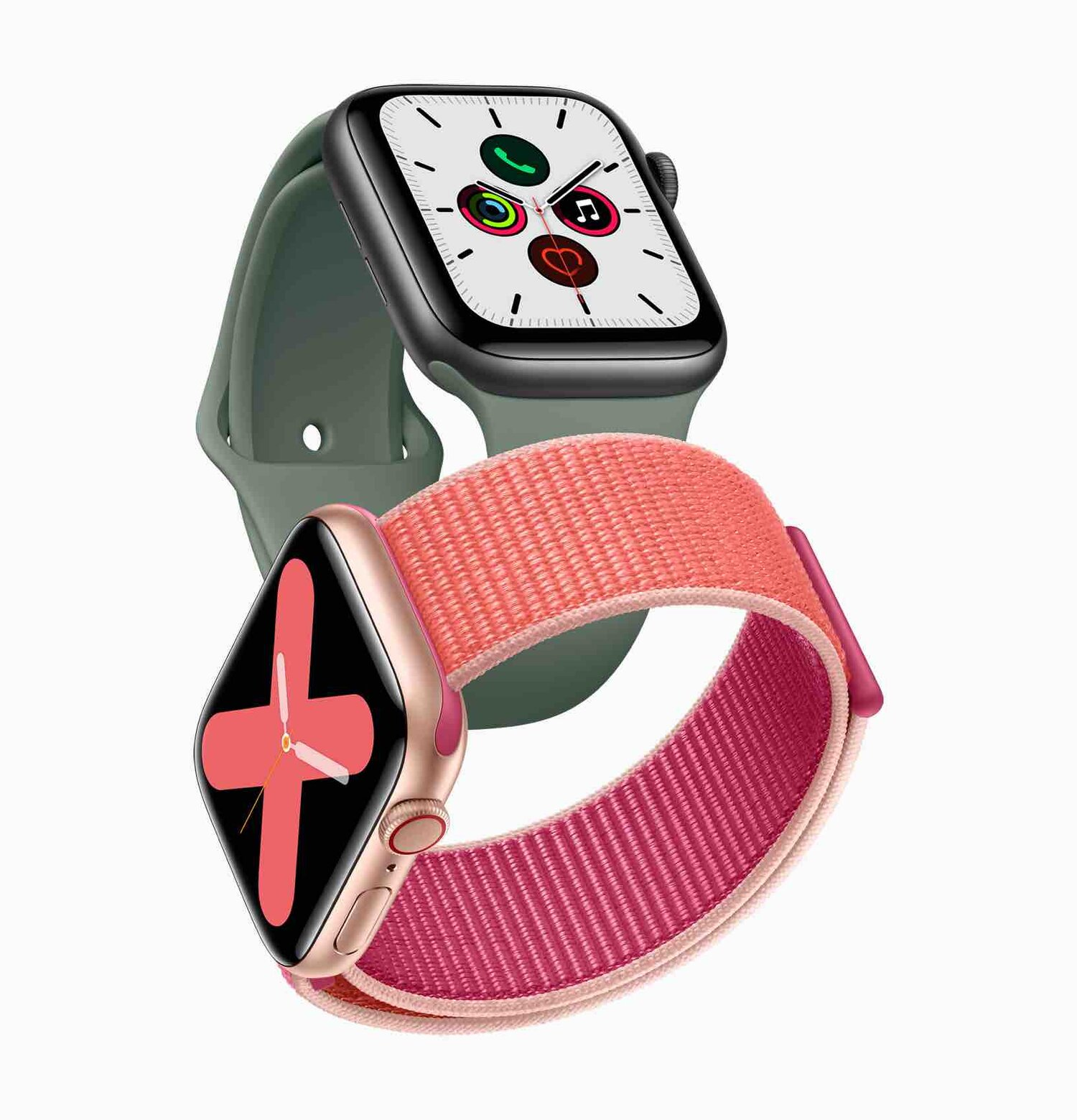Apple_watch_series_5-gold-aluminum-case-pomegranate-band-and-space-gray-aluminum-case-pine-green-band-091019_big.jpg.large_2x.jpg