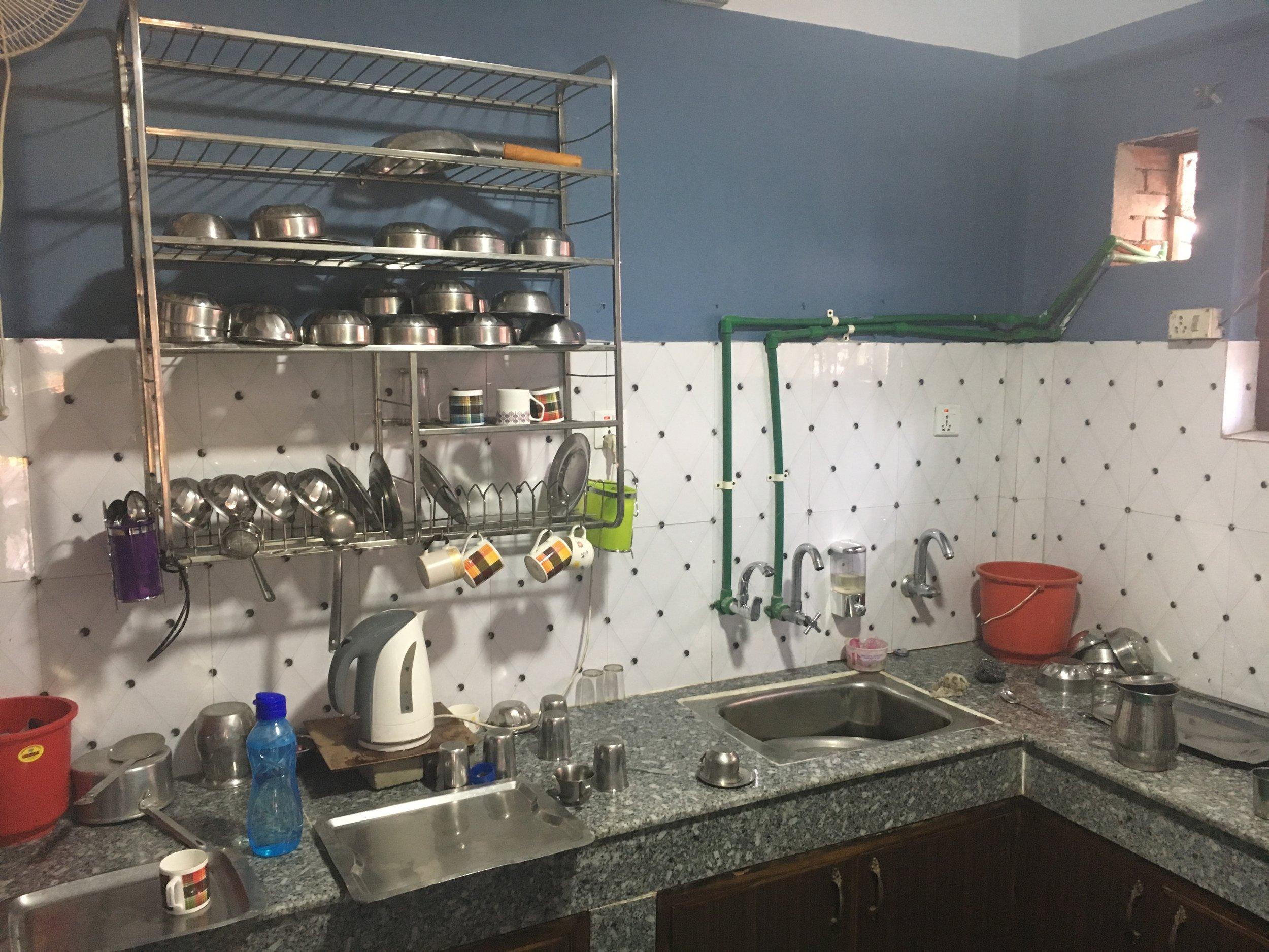 La nouvelle cuisine au sein de l'école