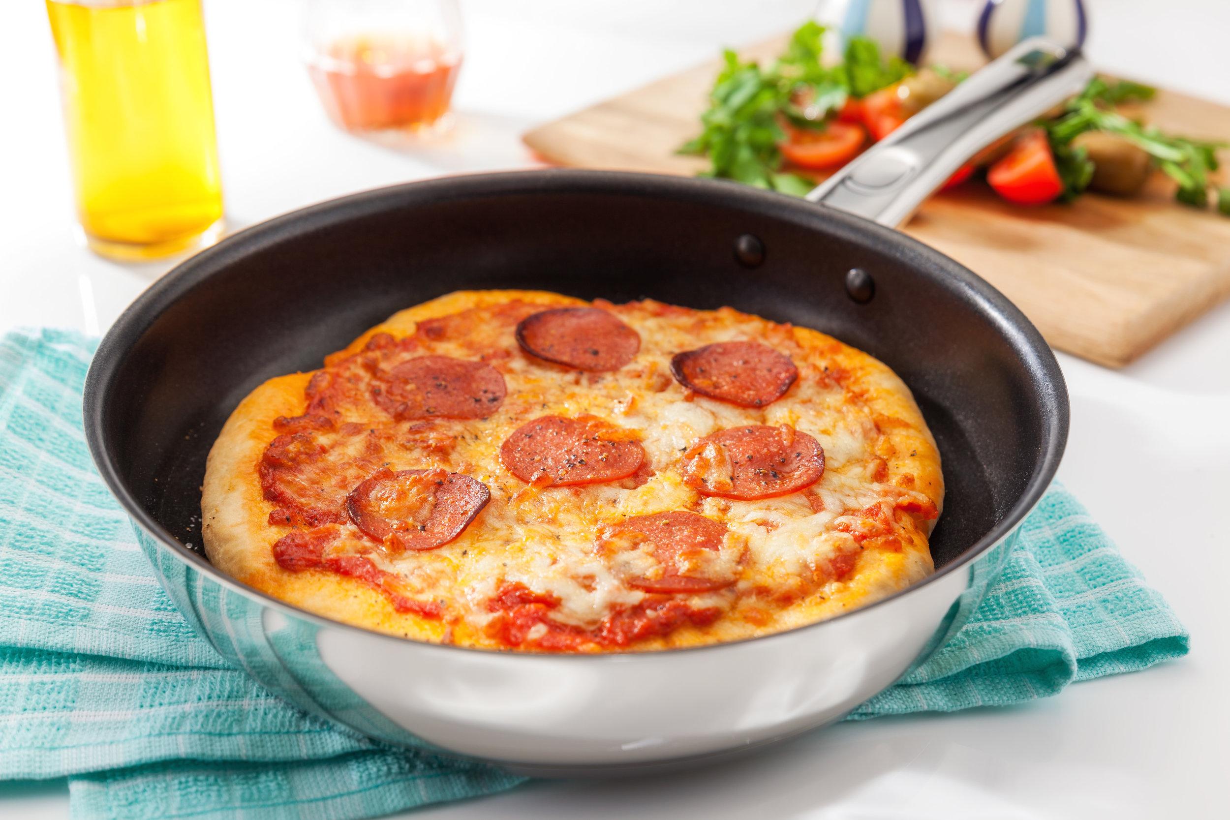 Frying Pan Pizza Recipe
