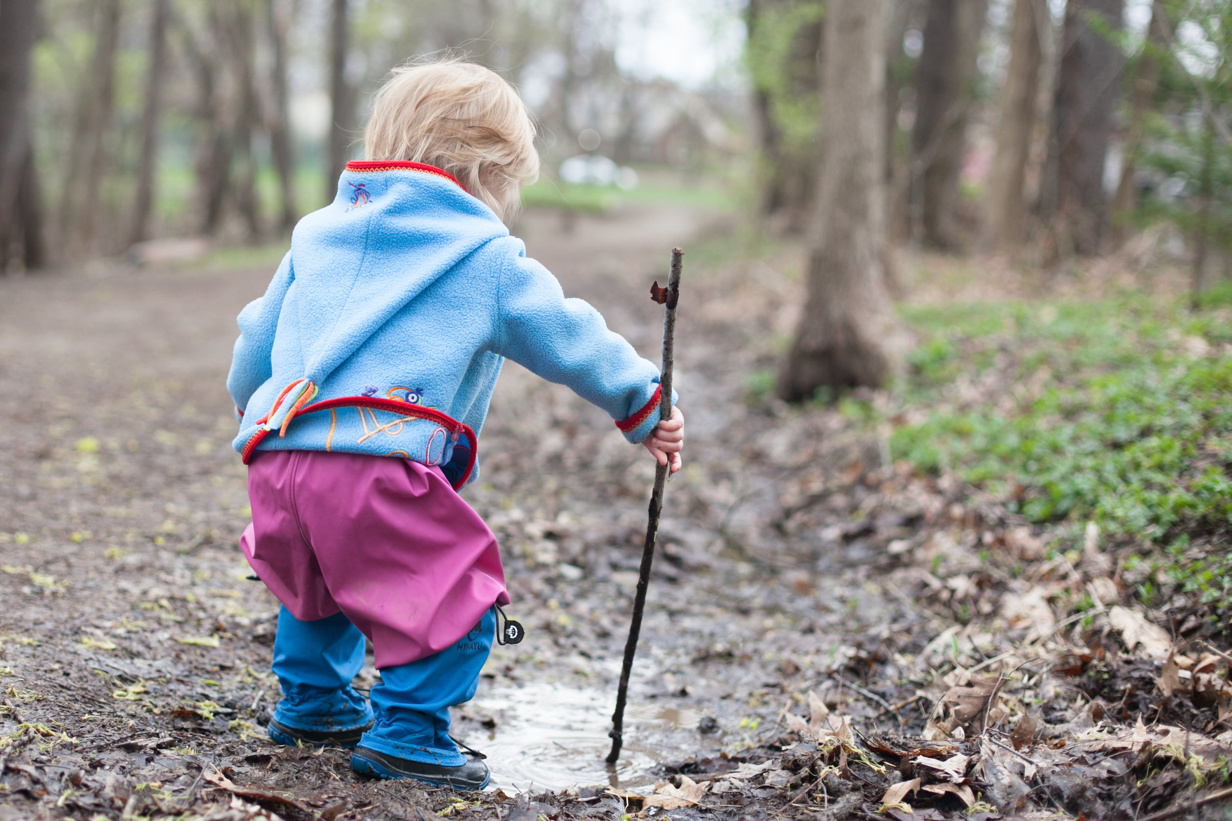 Family Photographer Podcast Jenny Stein My Mayu boots child playing in mud