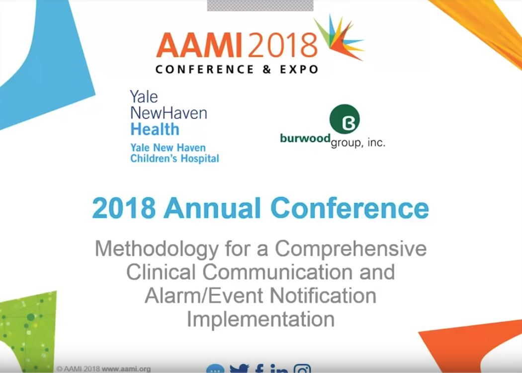 Methodology for a Comprehensive Clinical Communication and Alarm/Event Notification Implementation -