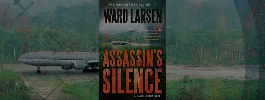 """""""Larsen is a dazzling new superstar!""""  - Stephen Coonts  New York Times  bestselling author   buy it now!"""