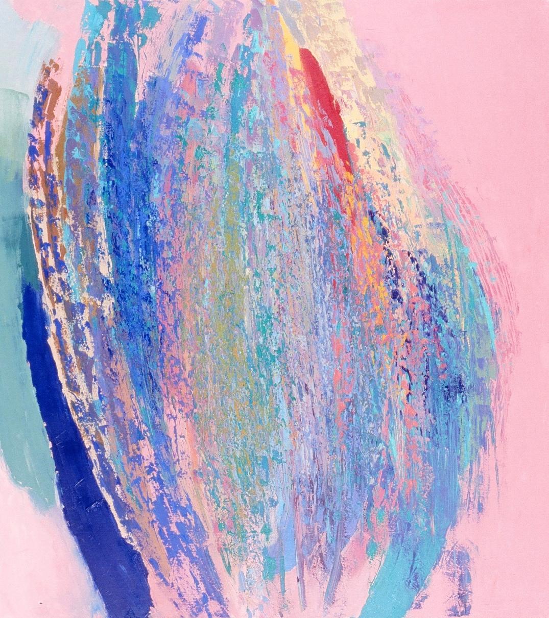 'In Flower,' 60x54, oil, 1995 (2).jpg