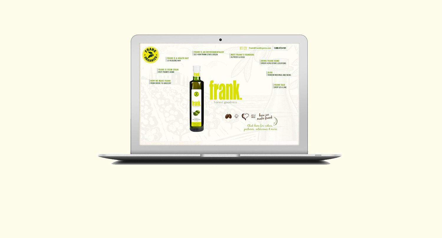 Frank Organics | Website Design & Development